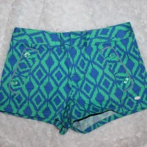 Tommy Hilfiger Girl's Printed Shorts Size 12